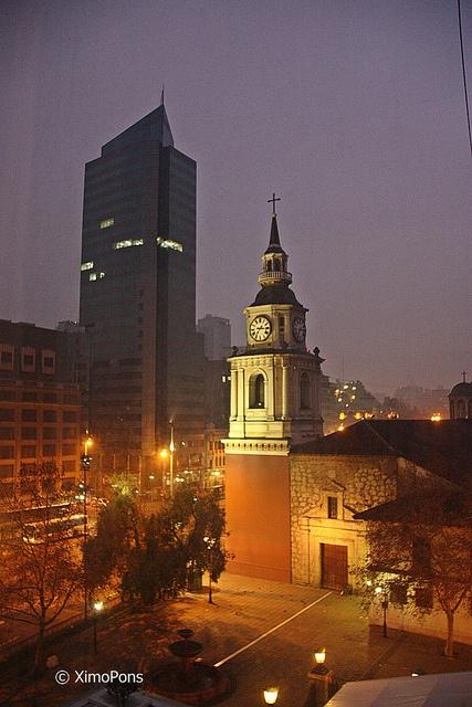 Iglesia de San Francisco  -Santiago
