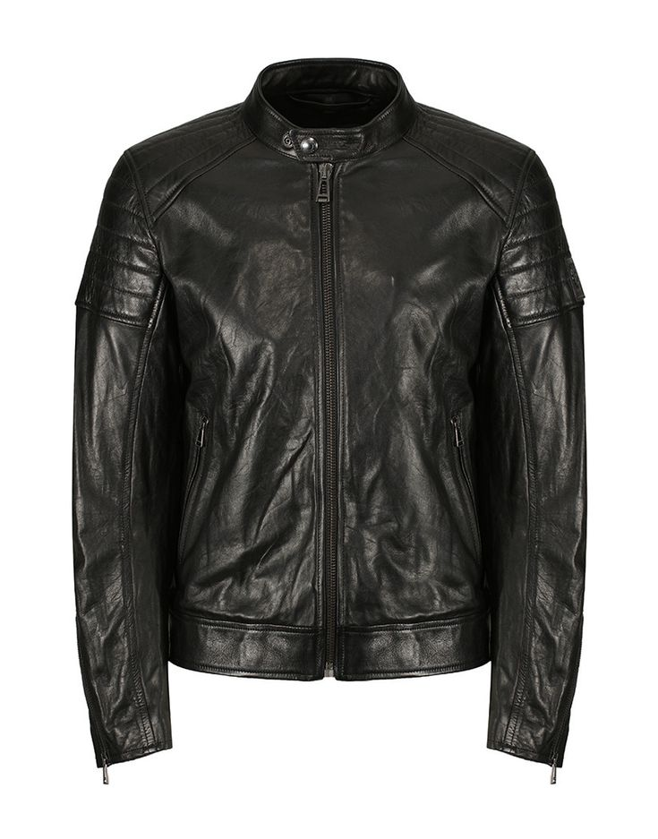 The perfect jacket for all your social events this year, the Northcott Leather Jacket by Belstaff is versatile in design and can be worn with anything from a smart pair of trousers or chinos and a shirt, or a pair of casual denim jeans and a simple tee. Sure to add a splash of luxury to your days and evenings thanks to its high quality full leather composition, combined with timeless style .