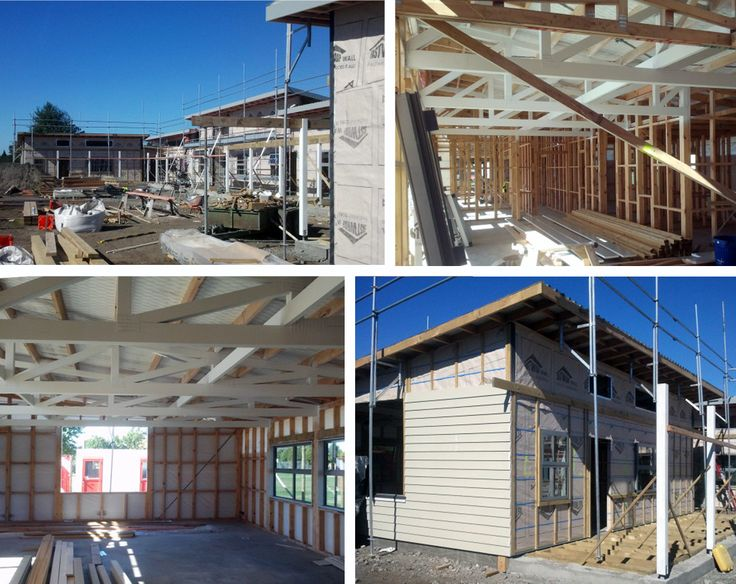 Early Childhood Centre and Teen Parent Unit at Flaxmere College under construction