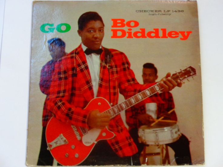 "RARE Vinyl - Go Bo Diddley - Rock and Roll - R&B - ""Crackin' Up"" - ""Say Man"" - Original Checker Records 1959 - Vintage Vinyl LP Record Album by notesfromtheattic on Etsy"