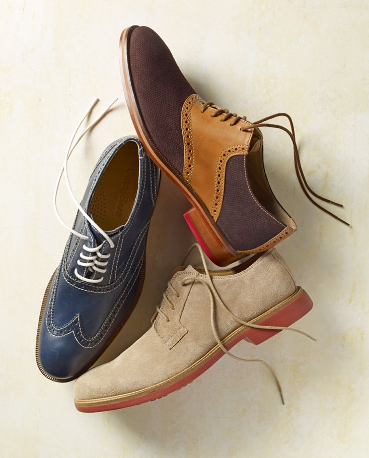 Step into old school style with oxfords by Cole Haan
