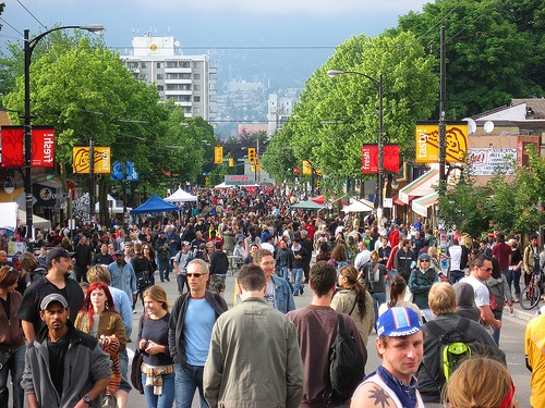 Commercial Drive Car Free Festival