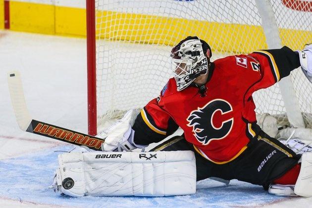 NHL: Calgary Flames v. Anaheim Ducks - Mikka...