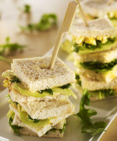 Sandwichs à l'anglaise par les Chefs de l'Institut Paul Bocuse www.likeachef.fr #recette #chef #sandwich #anglaise