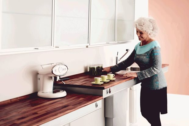 Easy touch faucets to height adjustable lifts: 5 products that allow kitchens to be fit for all | Architecture And Design