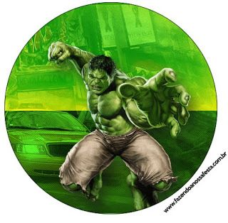 Kit Imprimible GRATIS Increible Hulk