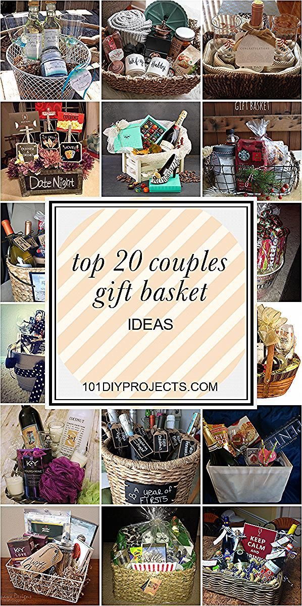 Top 20 Couples Gift Basket Ideas Home Diy Projects Inspiration Diy Crafts An To In 2020 Couple Gifts Basket Christmas Gifts For Couples Couple Gift Basket Ideas