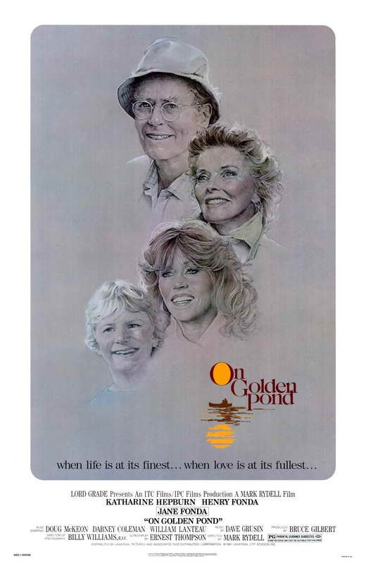 On Golden Pond (1981) - Henry Fonda DVD