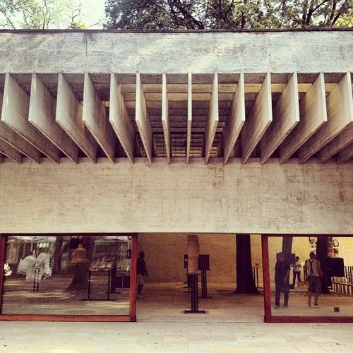 sharonleung:  archdaily:  The Nordic Pavilion at the #labiennale by #Prtizker Laureate Sverre Fehn #architecture #archdaily #architexture #instagood #iphonesia (Taken with Instagram at Paesi Nordici - Padiglione Giardini)  fave.  One of the best buildings Ive visited