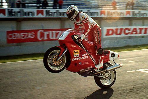 Giancarlo Falappa + Ducati 851