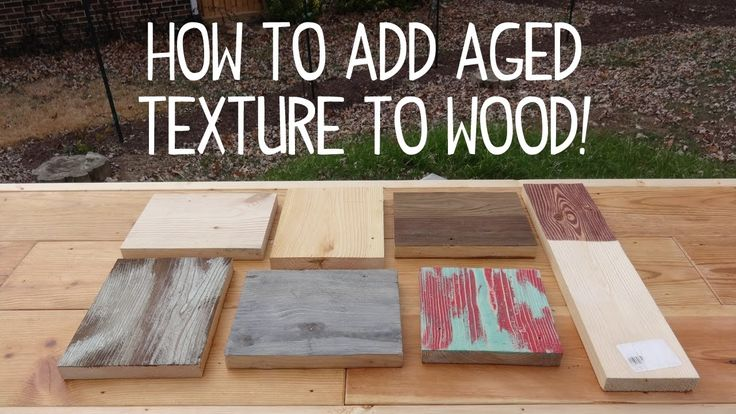how to make wood look old weathered texture trick. Black Bedroom Furniture Sets. Home Design Ideas