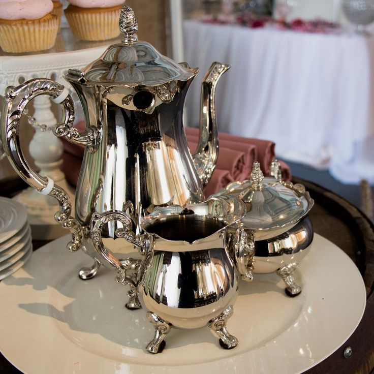 Don't forget tea service!