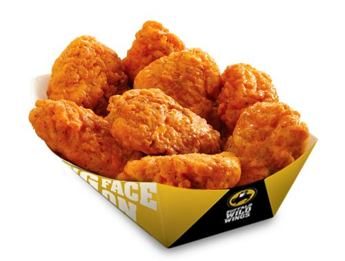 Buffalo Wild Wings are the best. They can be hot and spicy or sweet and tangy.There are so many choices its hard to no which one to get. I like the sweet and tangy ones or the honey bbq wings. They have to be boneless though.