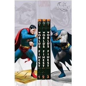 Superman & Batman BookendsGeek, Stuff, Comics Book, Superman, Gift Ideas, Batman Bookends, Superheroes, Super Heroes, Boys Room