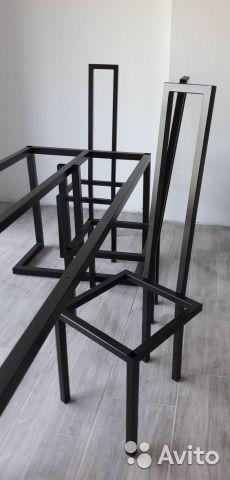 7ef9e34598ab5 Металлический каркас, подстолье для стола 99 купить в Санкт-Петербурге на  Avito — Объявления