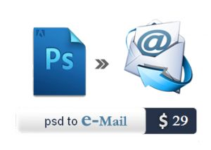 PSD to Email Conversion Services