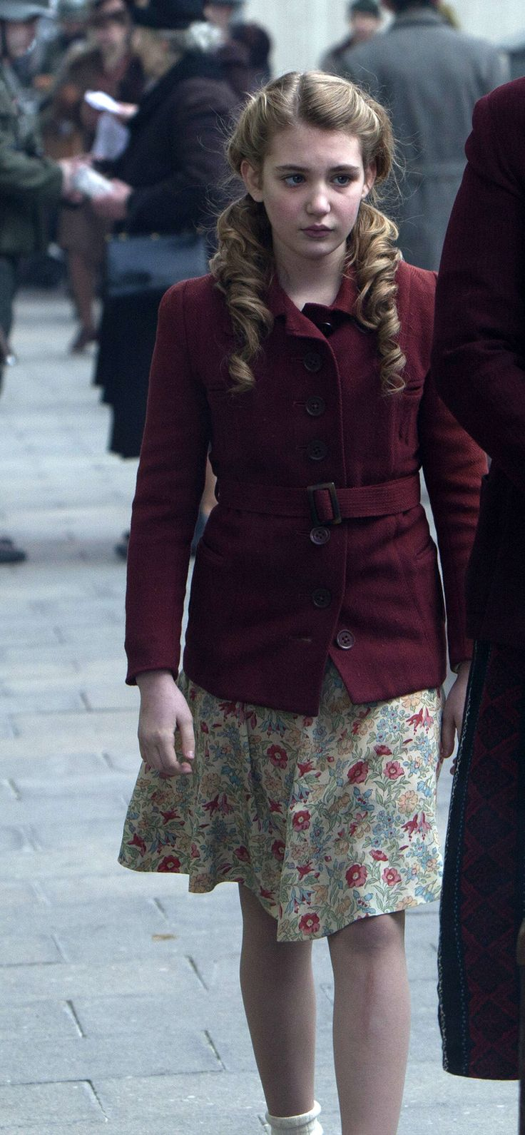 Sophie Nélisse in The Book Thief