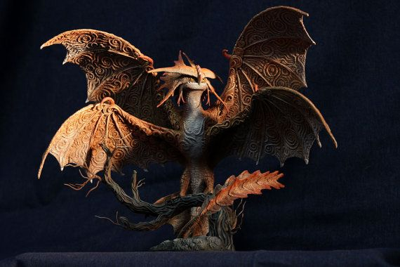 Cloudjumper Dragon Sculpture HTTYD 2 figurine by DemiurgusDreams, $1600.00