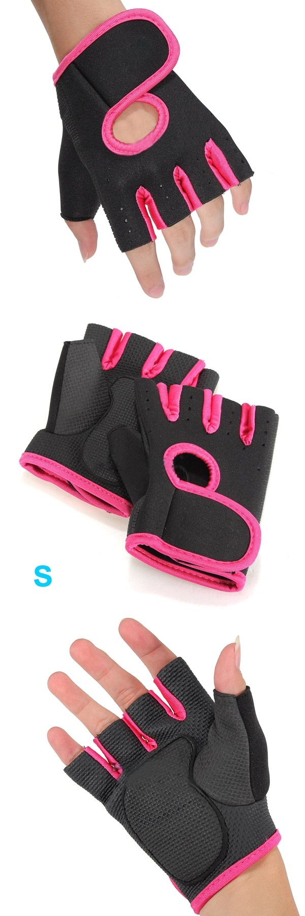 Hot Men & Women Gym Glove Fitness Training Exercise Body Building Workout Weight Lifting Gloves Half Finger