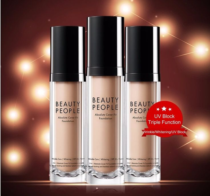 Beauty People Absolute Cover Fit Foundation 30g #21 #23 #BeautyPeople