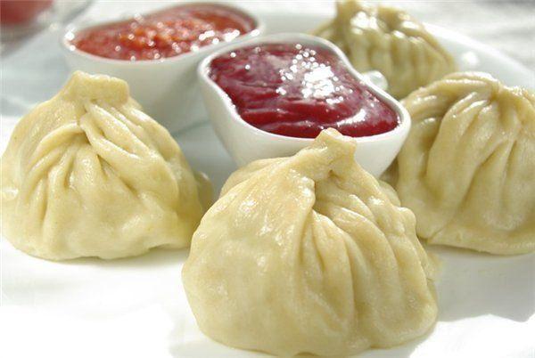 Homemade juicy Khinkali!