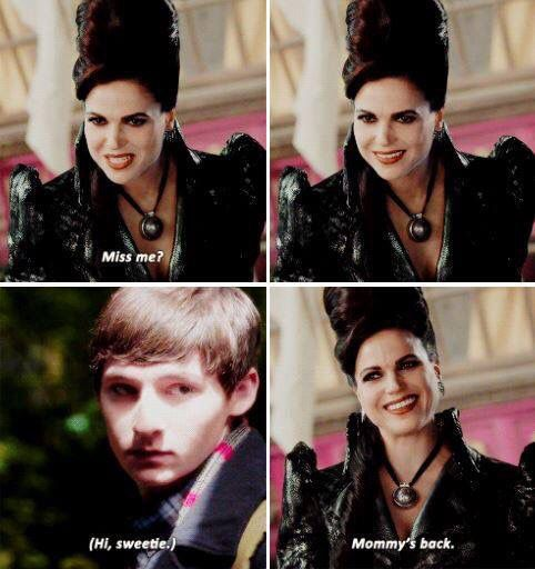 Awesome Evil Queen Regina and Henry (Lana and Jared) #Once #S6 E2 #ABitterDraught airs Sunday 10-2-16