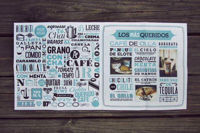 Cielito Querido Café Multiple locations, Mexico design menu restaurant