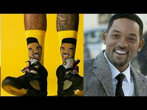 Will Smith collaborates with Stance socks, a brand famous for its originality. To honour Will Smith's rise to fame in The Prince of Bel-Air in the 90s, Stance has dropped a colourful, offbeat micro collection
