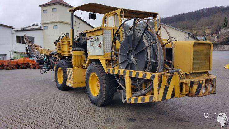 Video Tünel Delici Atlas Copco 132 Boomer Jumbo 282 http://www.ito-germany.de/kaufen/tunel-makineleri