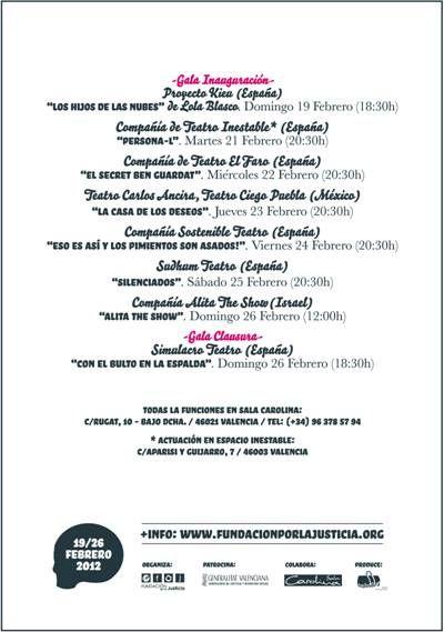 Una reflexión sobre el pueblo saharaui abre el II Festival de Teatro Social REACT
