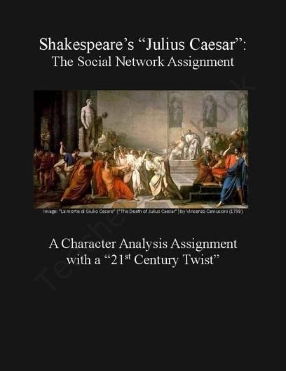 An analysis of suspense in julius caesar a play by william shakespeare