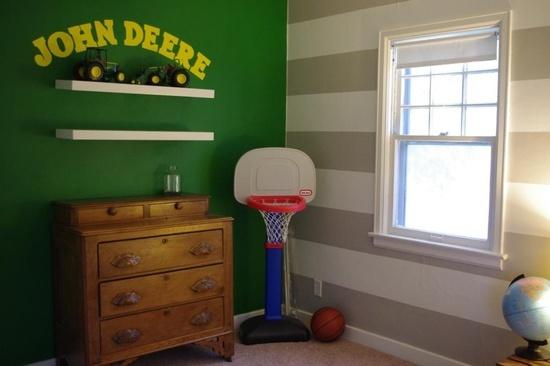 57 best parker 39 s new room images on pinterest baby for John deere bedroom ideas