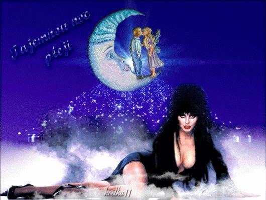 Krásny večer vystriedala tmavá noc, maj nerušené sny a pokojnú noc❥ღ☆