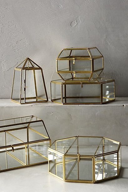 Arca jewellery boxes £20-£32 from Anthropologie http://www.cotswoldtales.co.uk/recommends/arca-jewellery-box-anthropologie/ #homedecor #interiordesign #accessories