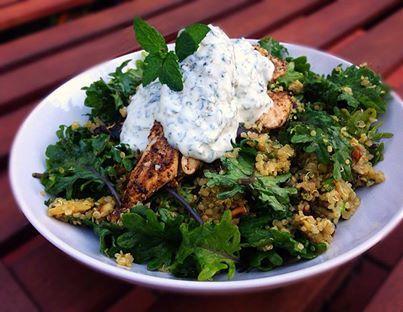Moroccan Chicken & Quinoa salad. *Gluten Free