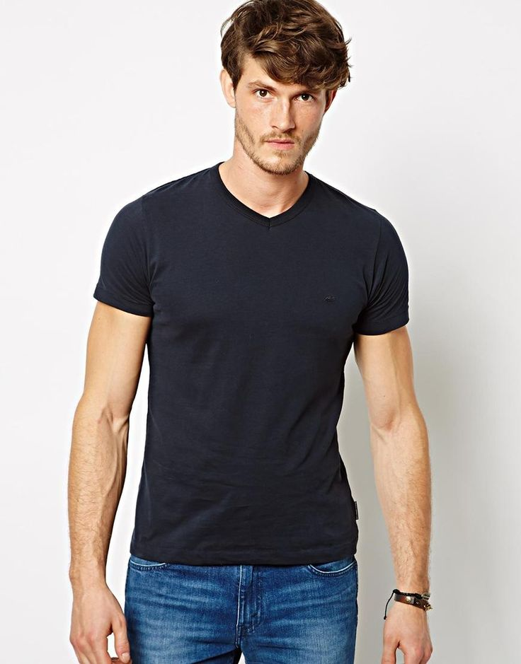 French Connection | French Connection T-Shirt V-Neck at ASOS