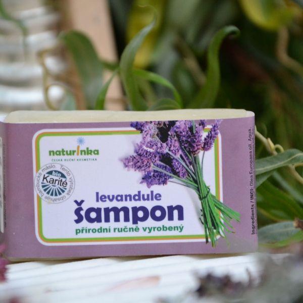 Levandulový šampon na lupy Naturinka