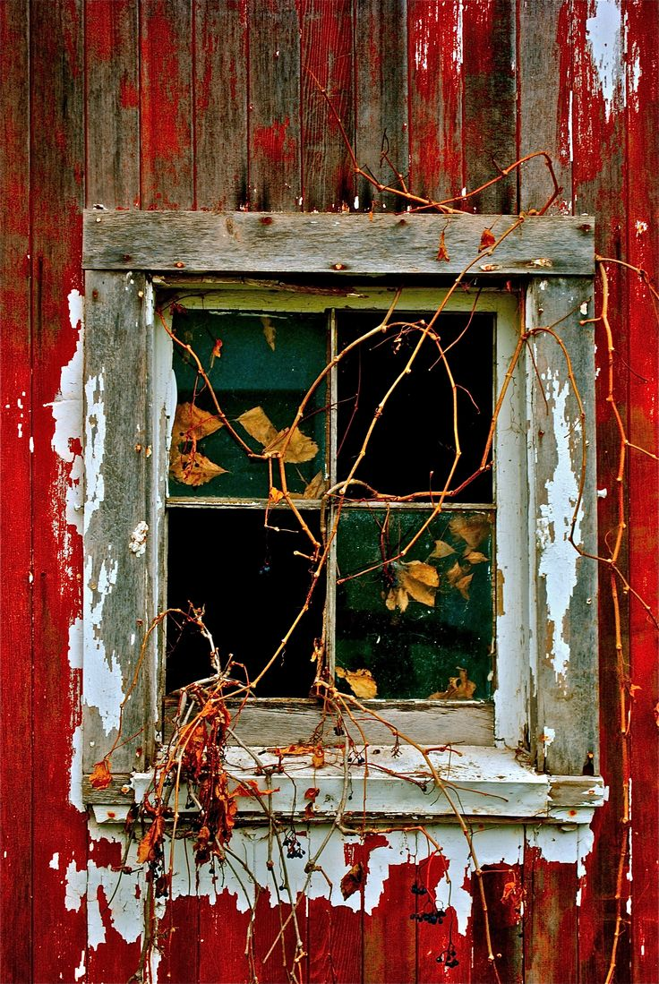 Barn Window.