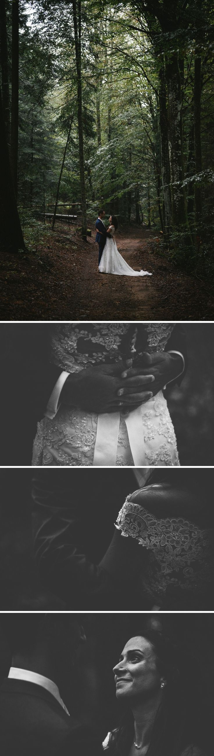 Couple pictures in the forest - Puy de Dôme photographer - Zephyr & Luna photography