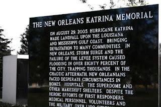 New Orleans Katrina Memorial