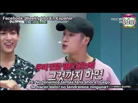 [Sub Español] 160810 Weekly Idol GOT7 Ugly Dance