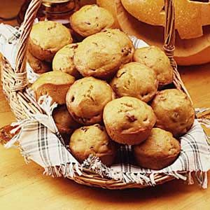 Country Pumpkin Muffins from Taste of Home -- I love this recipe. These muffins are delicious!