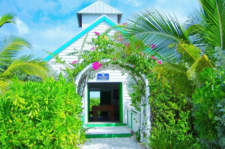 Church at Half Moon Cay, The Bahamas