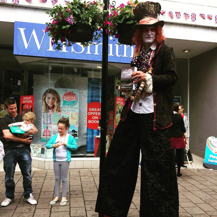 'The Human Jigsaw, did the crimson diary play its part in creating this magnificent specimen..?' #amreading #thehumanjigsaw #tiverton #devon #highstreet #whsmith #bookshop #crimson #diary #magnificent #specimen #tallman #madhatter #bookstagram #book #bibliophile #amazon #amazonkindle #stevensonolds #brand #brandname #hangingbaskets #flowers #flowerstagram #bookclub #bookreviews