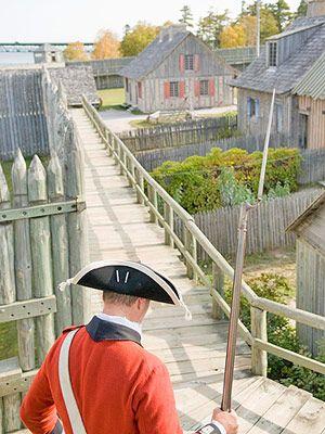 Perhaps the area's most impressive history lesson awaits on Mackinac Island