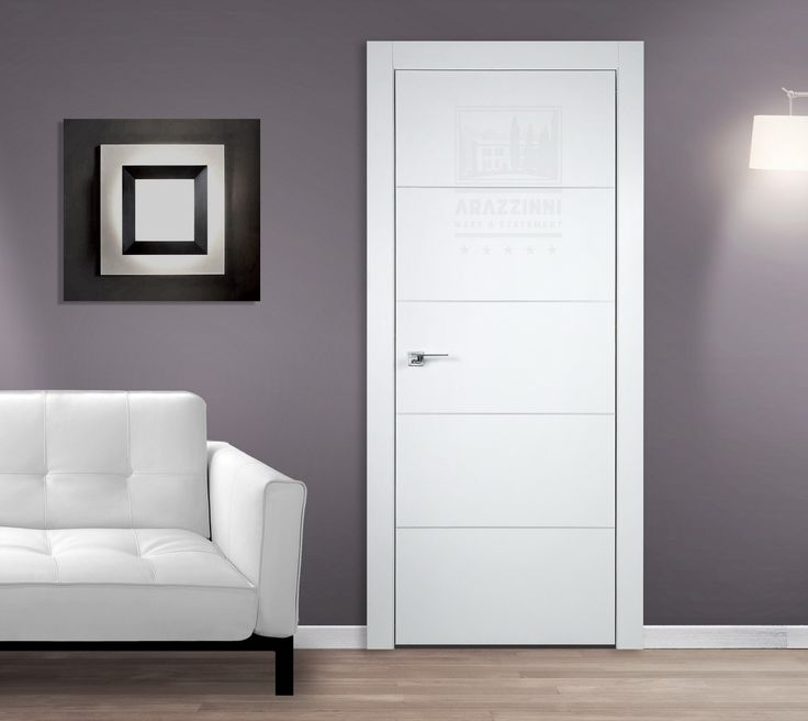 Arazzinni SmartPro 4H Polar White Modern Interior Door Art