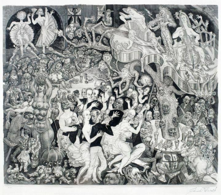Eduard Wiiralt, 'Kabaree', early 1930s.