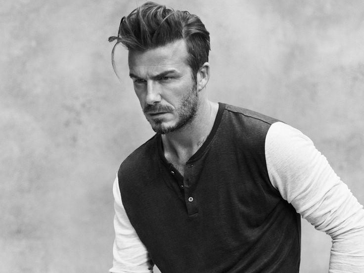 David Beckham's New Haircut