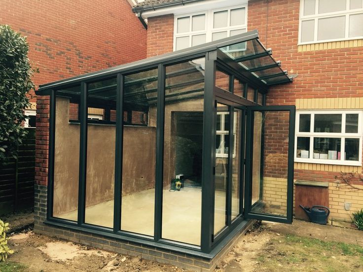 reverse pitch lean to conservatory\ - Google Search