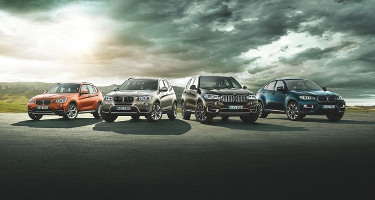 The BMW X models. A mighty storm arises.